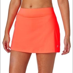 Prince tennis/ golf skirt size small orange NWOT